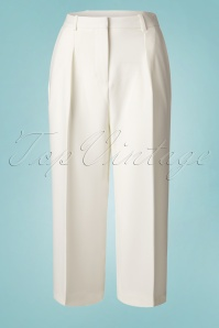 30s Lili Culottes in Ivory