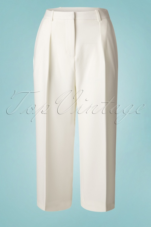 Closet London Cropped Wide White Pants 131 50 19306 20160530 0010W