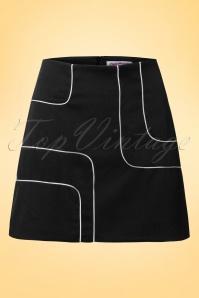Dandy Life  Piped Mini Skirt 123 30 18428 20160606 0006W