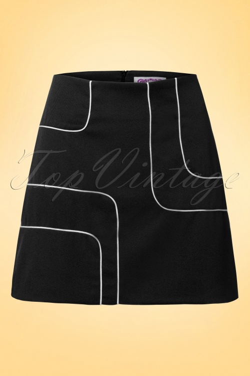 Dandy Life  Piped Mini Skirt 123 30 18428 20160606 0006W