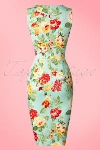 Vintage Chic Floral Pencil Dress 100 39 19260 20160608 0003W