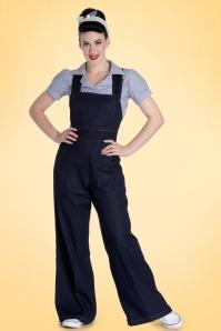 Bunny Penny Dungar Jumpsuit Black 139 10 18263 1