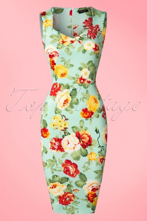 Vintage Chic Floral Pencil Dress 100 39 19260 20160608 0006W2 15 Min 30 sec