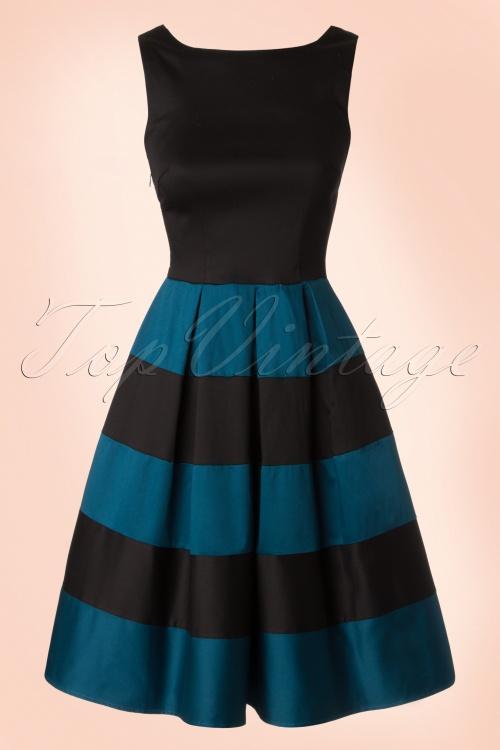 Dolly and Dotty Anna Striped Dress 102 30 18176 20160615 0003W