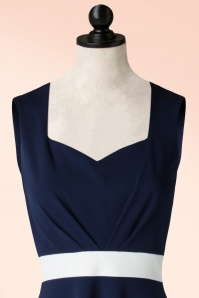 Vintage Chic Luxury Fit Navy Dress 102 31 19258 20160614 0001VW