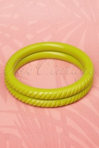 Splendette 20s Narrow Carved Green Bracelet 310 40 19285 20160622 0008W