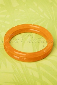 Splendette Narrow Fakelite Orange 20s Bracelets 310 21 19291 20160622 0005W