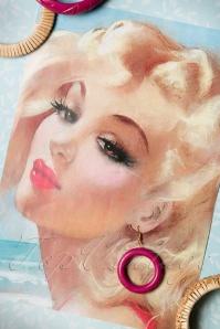 Splendette Carved Fuchshia 20s Earrings 333 22 19328 20160622 0015W