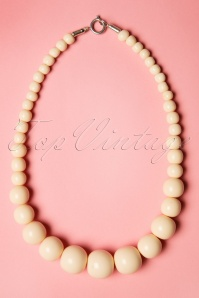 TopVintage Exclusive ~ 50s Gwendolyn Pearl Necklace in Ivory