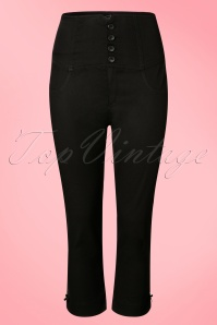 Steady Clothing High Waist Black Pants 134 10 19183 20160624 0005W