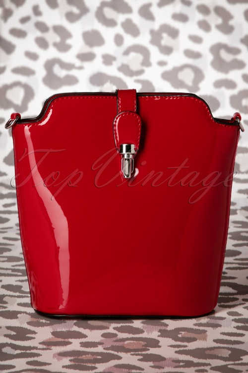 Milan 60s Miss Trixie Lacquer Bag in Red 212 20 19398 20160630 0010W