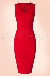 Vintage Chic Luxury Bodycon Pencil Dress 100 20 19259 20160630 0002W