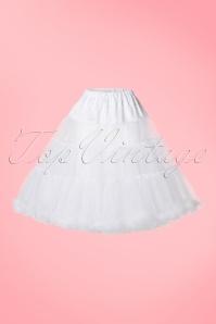 Bunny 50s Retro White Petticoat 124 50 10995 20160704 0002W