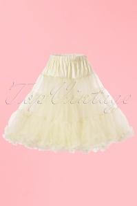 Bunny 50s retro Petticoat chiffon ivory 10986 1W