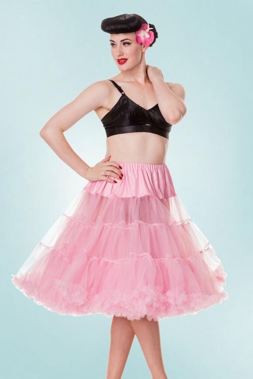 Bunny 50s Petticoat Chiffon Bubblegum Pink 10983 1