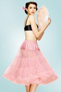 Bunny 50s retro Petticoat chiffon dolly pink 10985