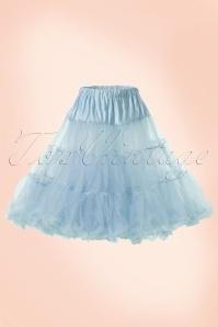 Bunny 50s retro Petticoat chiffon Sky Blue 10993 1W