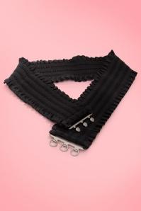Collectif Clothing Sarah Retro stretch taille riem zwart 77 4939 20130503 0003WA
