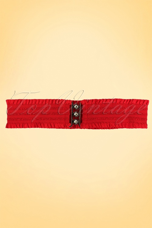 sarah retro belt red2