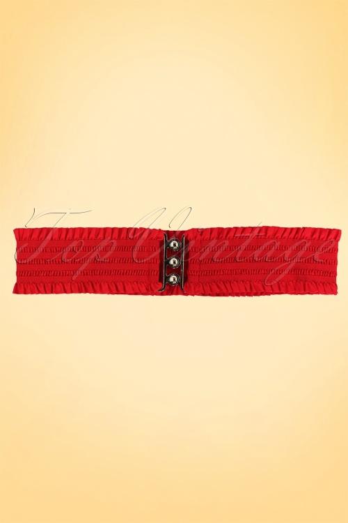 sarah retro belt red2