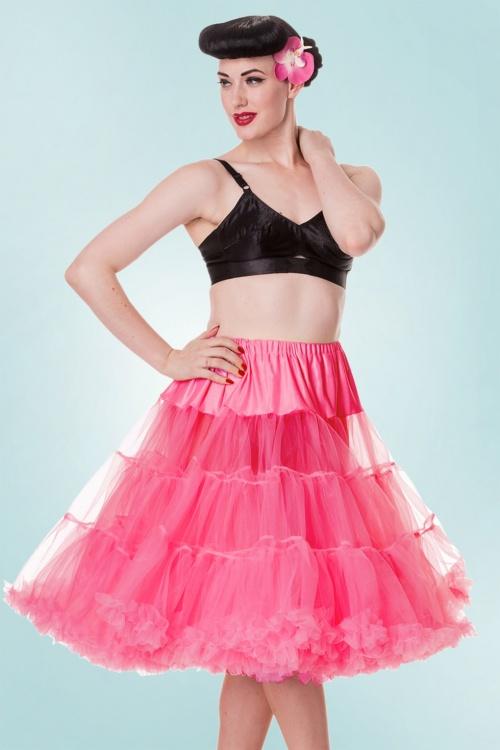 Bunny Fluorescent Pink Petticoat 10990 1