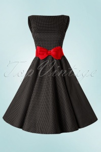 Collectif Clothing Bella Bow Belt Red 14452 20130312 2