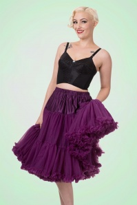 Banned Eggplant Purple petticoat 18078 1