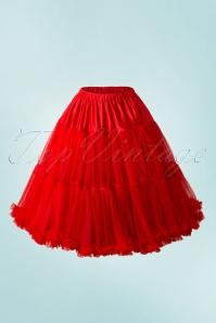 Lola Lifeforms Petticoat Années 50 en Rouge