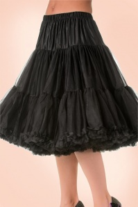 Banned 50s Lola Lifeforms Petticoat in Black 14714 1
