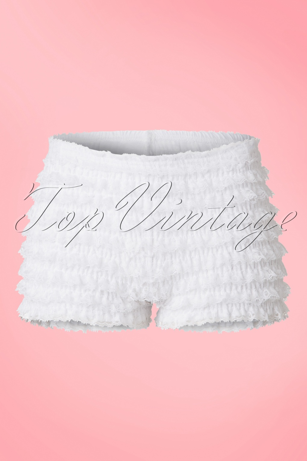 New 1950s Vintage Lingerie & Sleepwear, Pinup Styles 50s Pettypants in White £17.61 AT vintagedancer.com