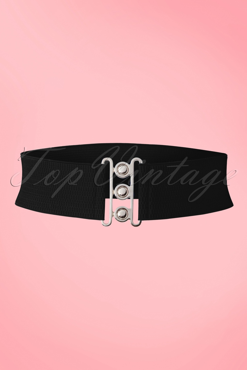 Vintage Wide Belts, Cinch Belts 50s Lauren Vintage Stretch Belt in Black £7.32 AT vintagedancer.com