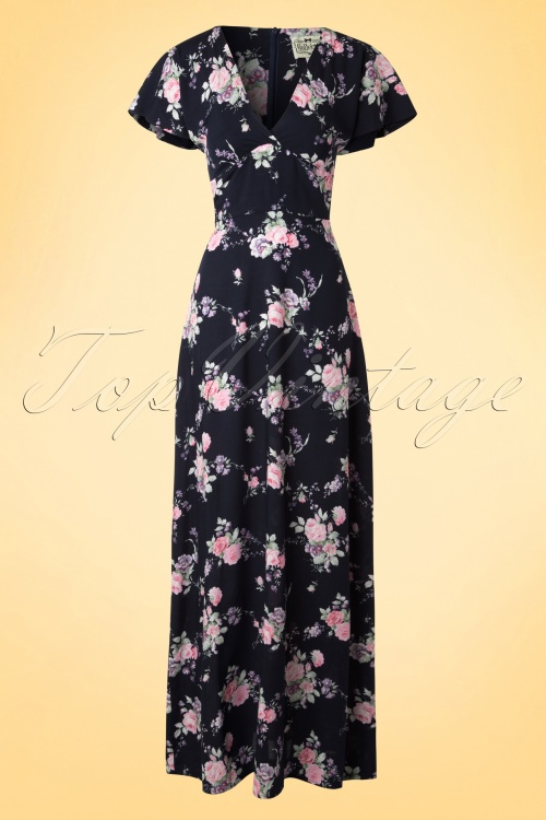 27587397af0136 Collectif Cloting Michelle Maxi Floral Summer Dress 17726 20151119 0008W