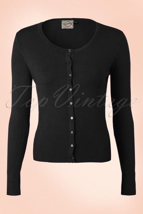 Banned Vintage Cardigan Black 140 10 14256 1W