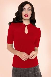 Vixen Dita Top in Red 113 20 19367 20160705 002