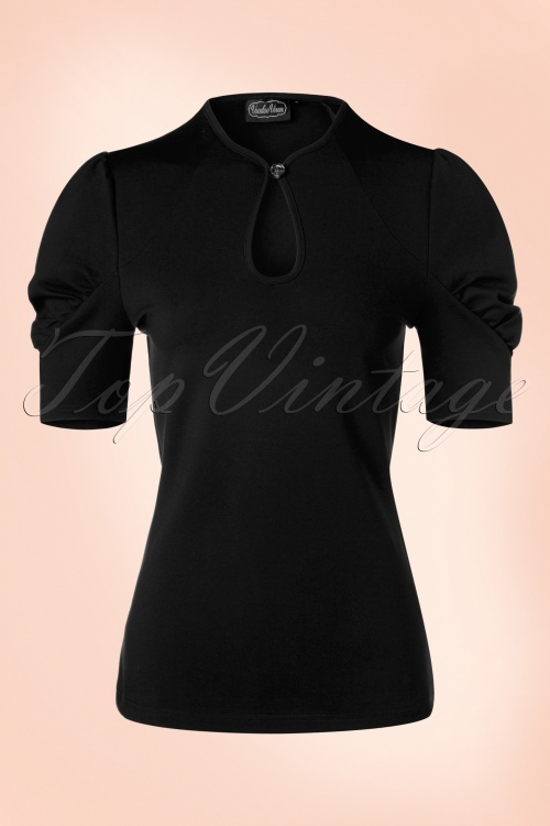 Vixen Dita Top in Black 113 10 17978 20160705 0013W