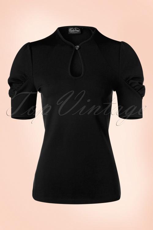 Vixen Dita Top in Black 113 10 17978 20160705 0013W