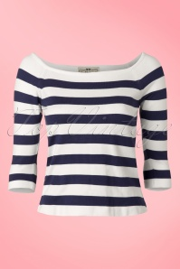 50s Marina Jumper in Navy