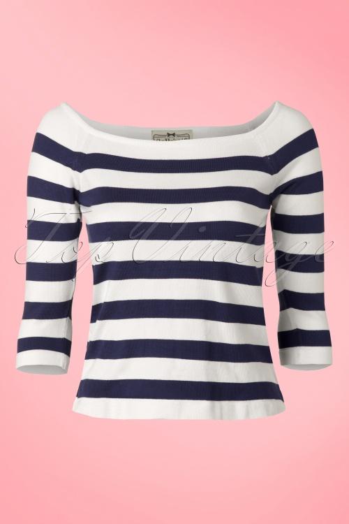 Collectif Clothing Marina Jumper Navy 110 39 12853 20140319 0004W