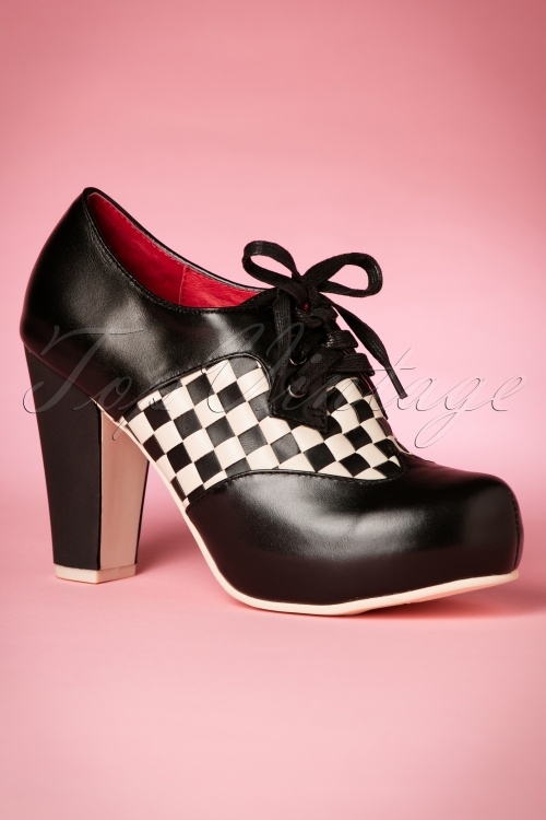 Lola Ramona Angie P Checkered Shoes 430 10 19137 07132016 006W