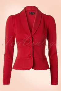 Smoking Jacket Milano in Red