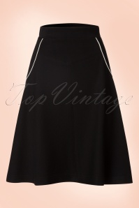 Le Pep 60s Black Swing Skirt 122 10 18715 20160718 0008W