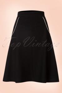 Le Pep 60s Black Swing Skirt 122 10 18715 20160718 0008W