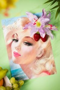 Lady Lucks Boutique Flower Hair clip 200 60 18645 07192016 008W