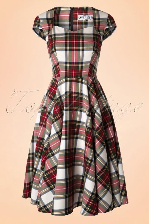 Bunny Aberdeen Tartan Swing Dress 102 59 16755 20151021 0007W