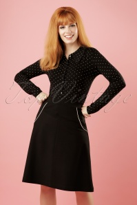 Le Pep 60s Black Swing Skirt 122 10 18715 20160718 1W