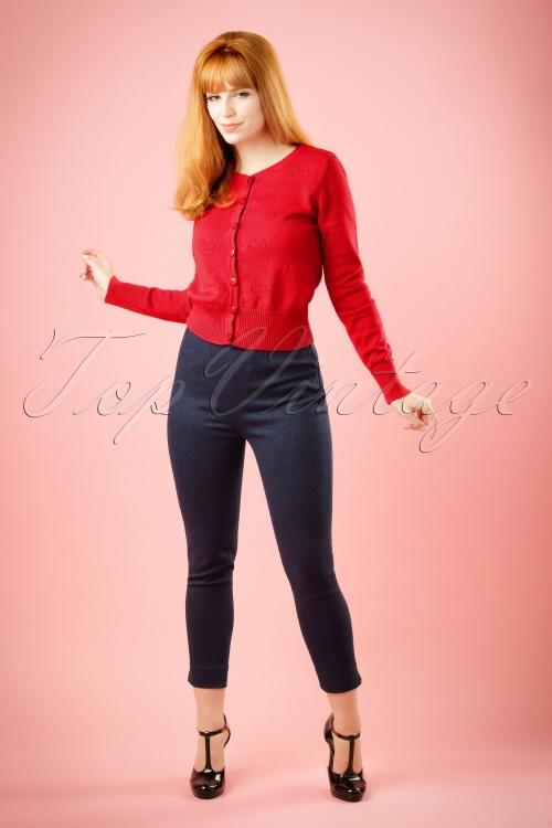 Glamour Bunny Capri Denim Jeans 131 30 13150 20140417 model01W   kopie