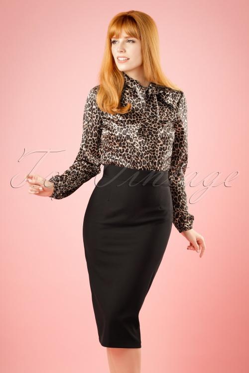 50s high time pencil skirt in black. Black Bedroom Furniture Sets. Home Design Ideas