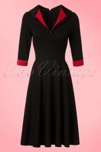 Hulahup TopVintage Exclusive Black Red Swing Dress 102 14 18623 20160719 0006Wa