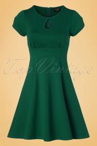 Steady Clothing Charm Me Keyhole Dress In Green 102 40 18373 20160808 0003W