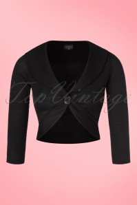 Steady Clothing Marilyn Bolero in Black  141 10 19534 20160808 0003a